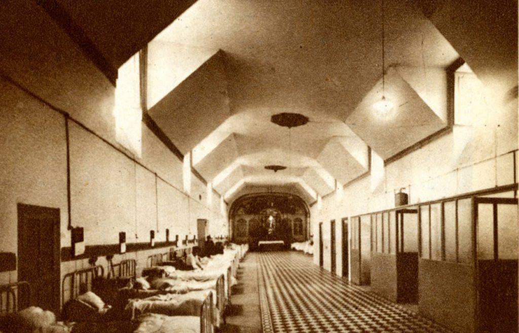 Hostal Reyes Católicos. 1948