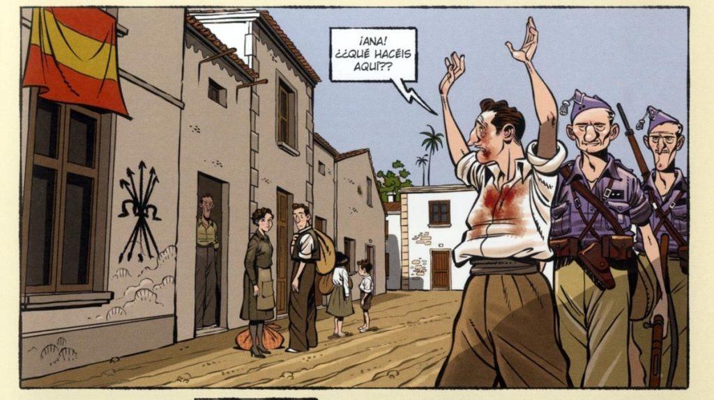 ICULT pagina de comic  Espacios en blanco   de Miguel Francisco